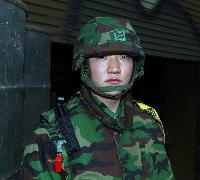 제7포병중대 3포반장 하사 김영복