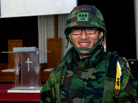 군종과장(목사) 대위 하승원